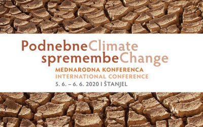 """Zbornik mednarodne konference """"Podnebne spremembe"""""""